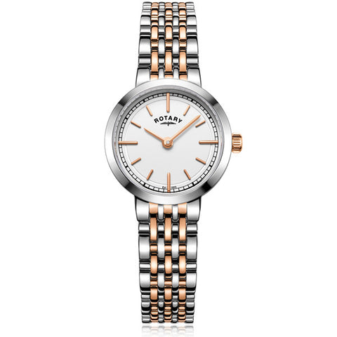 Ladies' Rotary Canterbury in two tone stainless steel LB05061/02