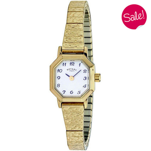 Ladies' Rotary in yellow gold plated stainless steel LBI00764/29