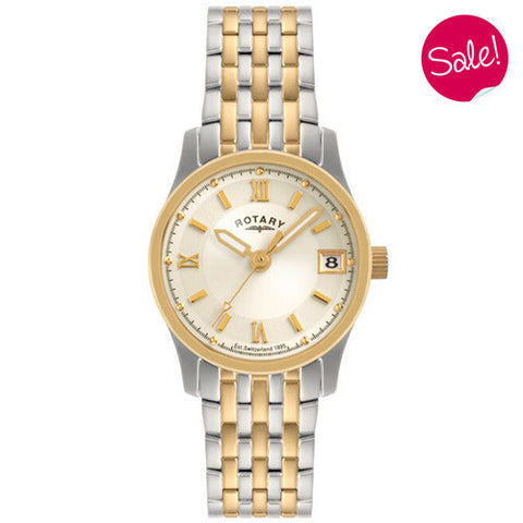 Watch - Ladies' Rotary in two tone stainless steel LBI0793/09  - PA Jewellery