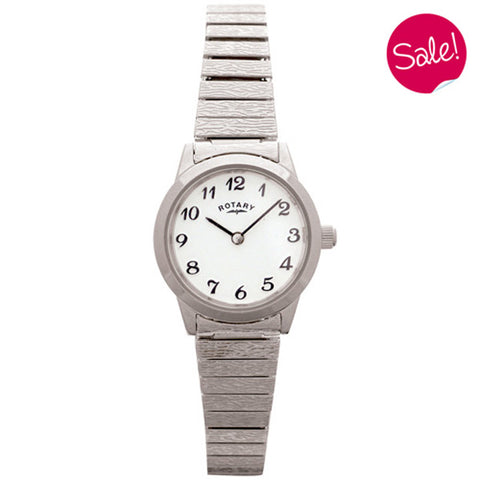 Ladies' Rotary in stainless steel LBI0761