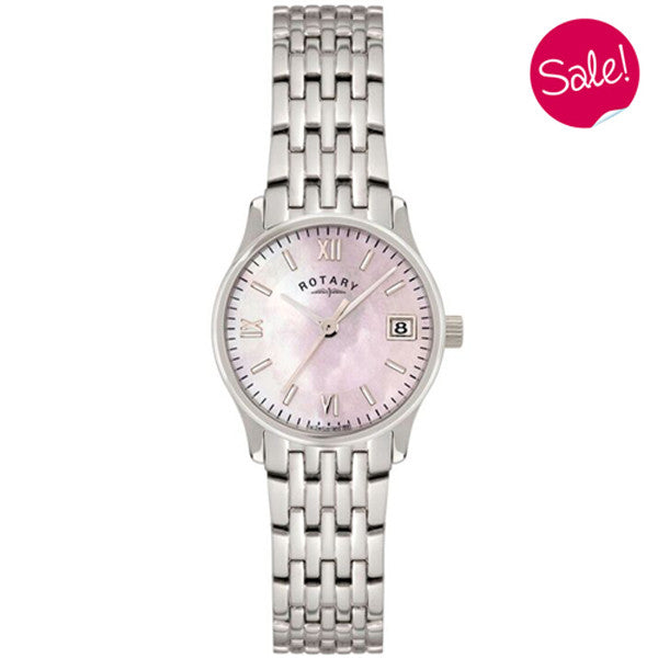 Ladies' Rotary in stainless steel LBI0792/07