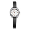 Ladies' Rotary Petite in stainless steel on leather LS05087/02