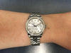 Mid-size Rolex Oyster Perpetual in stainless steel 178384