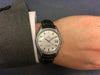 Omega Seamaster in stainless steel on leather 166.067