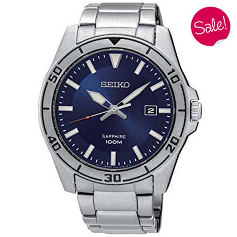 Men's Seiko in stainless steel SGEH61P1