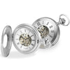 Watch - Pocket watch and Albert chain in silver model 1095  - PA Jewellery