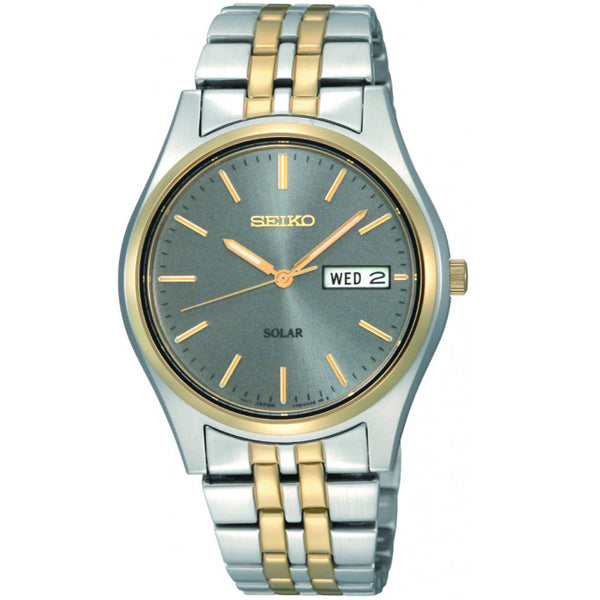 Men's Seiko in two tone stainless steel SNE042P9
