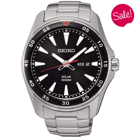 Men's Seiko in stainless steel SNE393P1