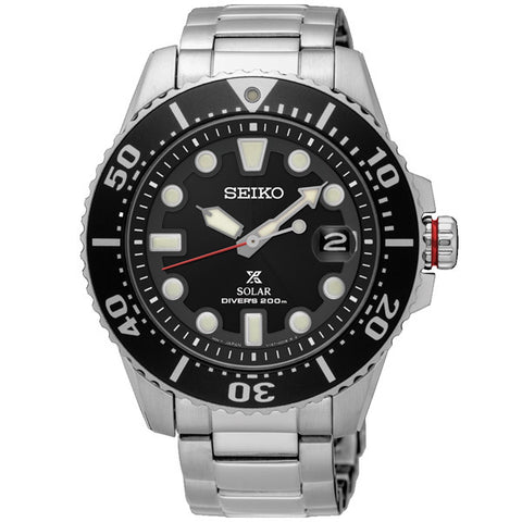 Men's Seiko Prospex Diver's in stainless steel SNE437P1