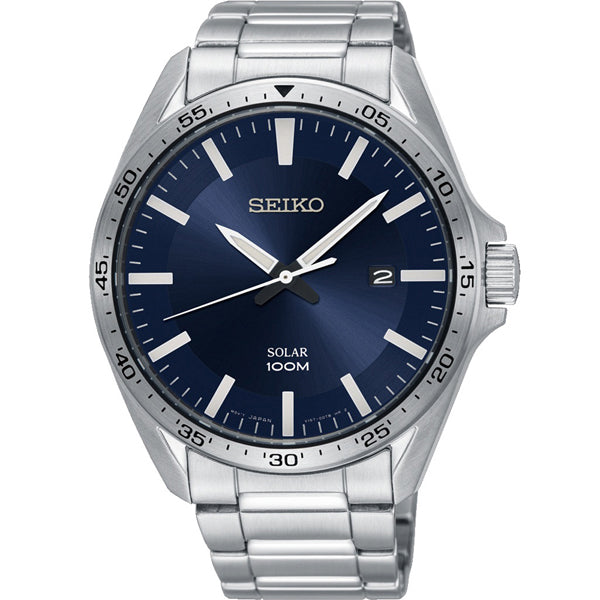 Men's Seiko in stainless steel SNE483P1