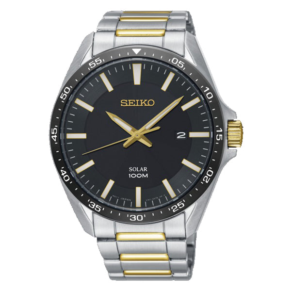 Seiko in two tone stainless steel SNE485P1