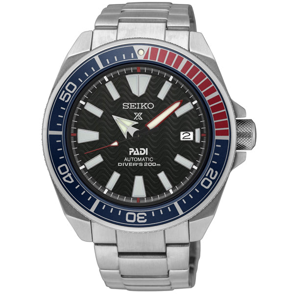 Men's Seiko Prospecx PADI Diver's Special Edition in stainless steel SRPB99K1