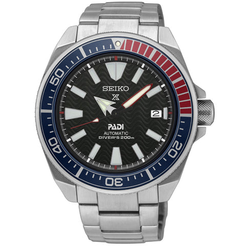 Seiko Prospex PADI Diver's Special Edition in stainless steel SRPB99K1