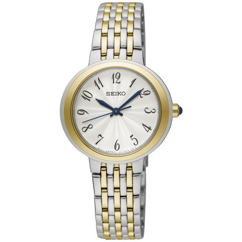 Ladies' Seiko in two tone stainless steel SRZ506P1