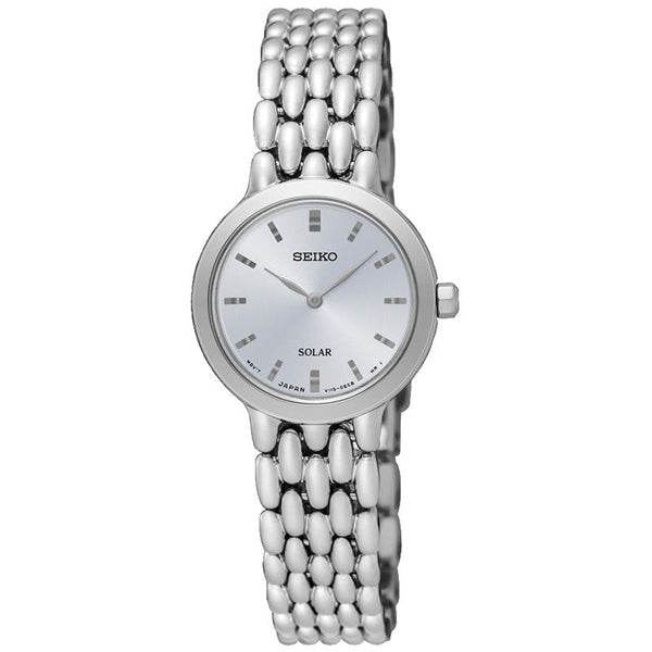 Ladies' Seiko in stainless steel SUP347P1