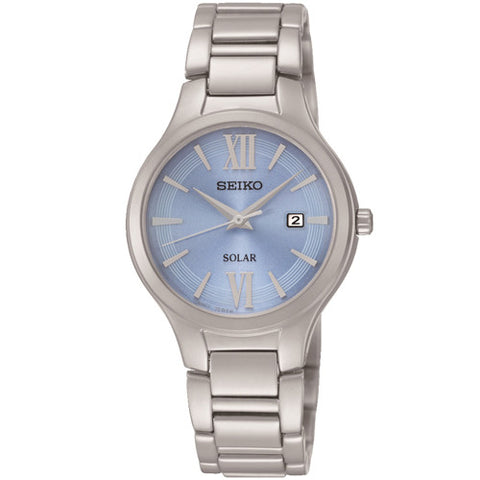 Watch - Ladies' Seiko Solar in stainless steel SUT209P9  - PA Jewellery