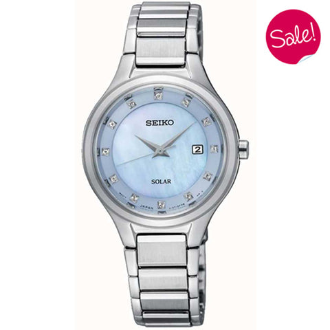 Ladies' Seiko in stainless steel SUT351P9
