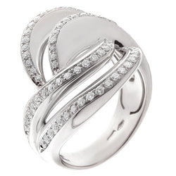 Rings - Cashmere diamond ring in 18ct white gold, 0.77ct  - PA Jewellery