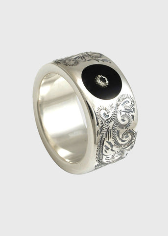 Round Engraved Ring