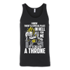 Vegeta Tank Top - Throne