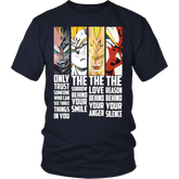 Vegeta Faces T Shirt