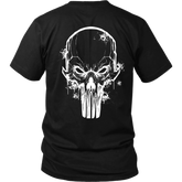 Punisher Killer T shirt bubble side print