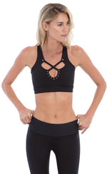 Track & Bliss Star Crossed Studded Sports Bra