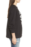 Wildfox Wino Sommers Sweater Black