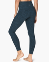 Beyond Yoga Spacedye Midi High Waisted Legging Deep Sapphire