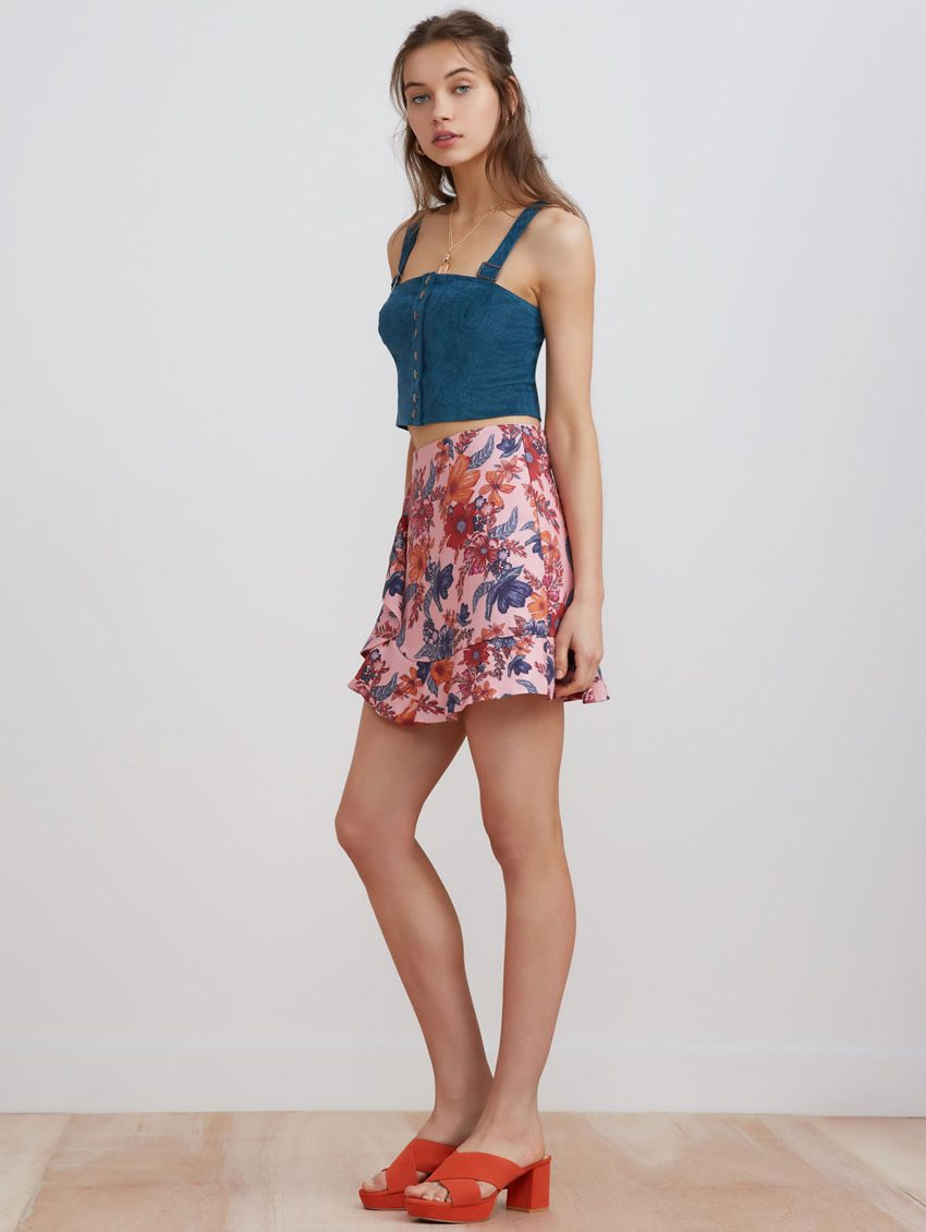 Finders Keepers Rhapsody Mini Skirt