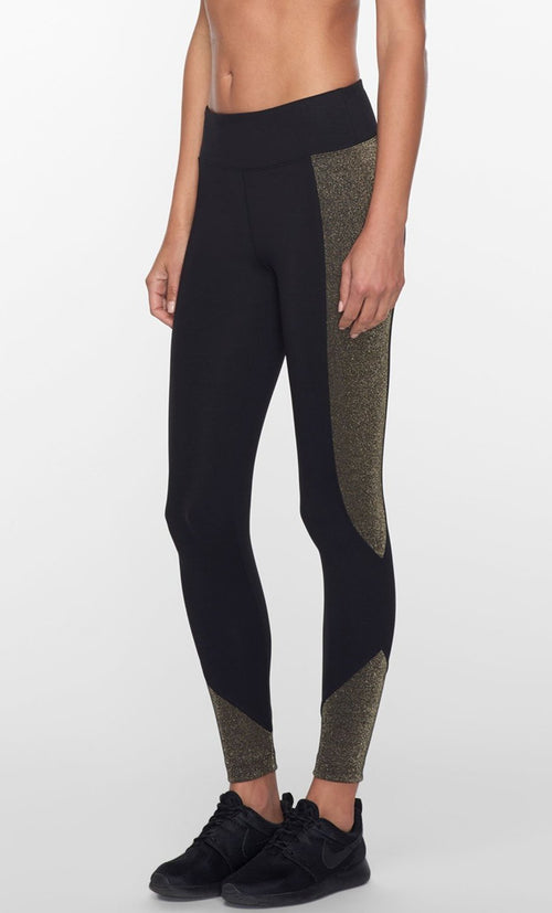 Koral Curve Mid Rise Crop Leggings