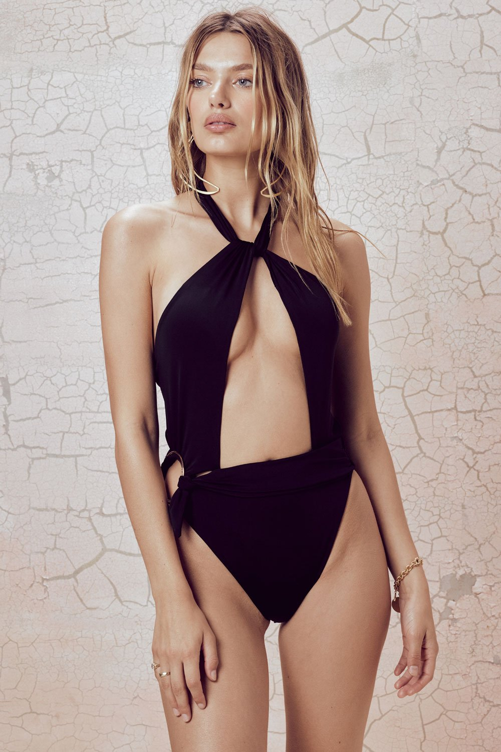 For Love and Lemons Havana One Piece Swim Suit