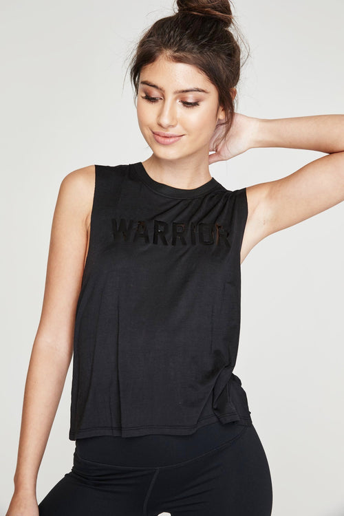Spiritual Gangster Warrior Active Crop Tank