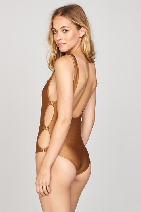 Amuse Society Estelle One Piece Swim Suit