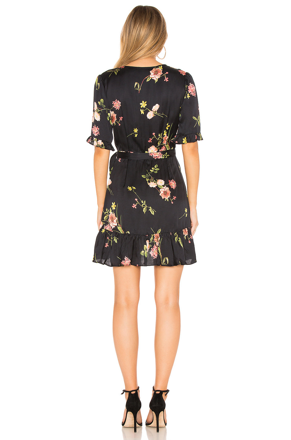 Capulet Nadine Wrap Dress Black