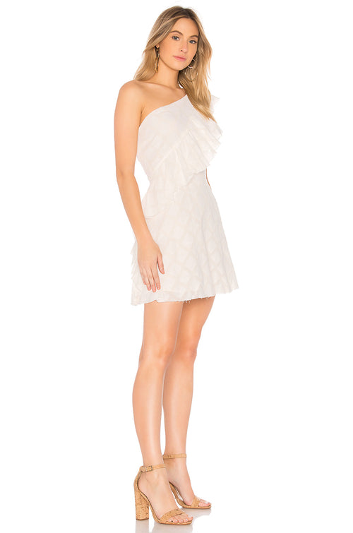 Tularosa Aria One Shoulder Dress