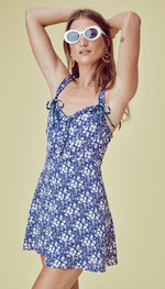 For Love and Lemons Zamira Button Front Tank Dress