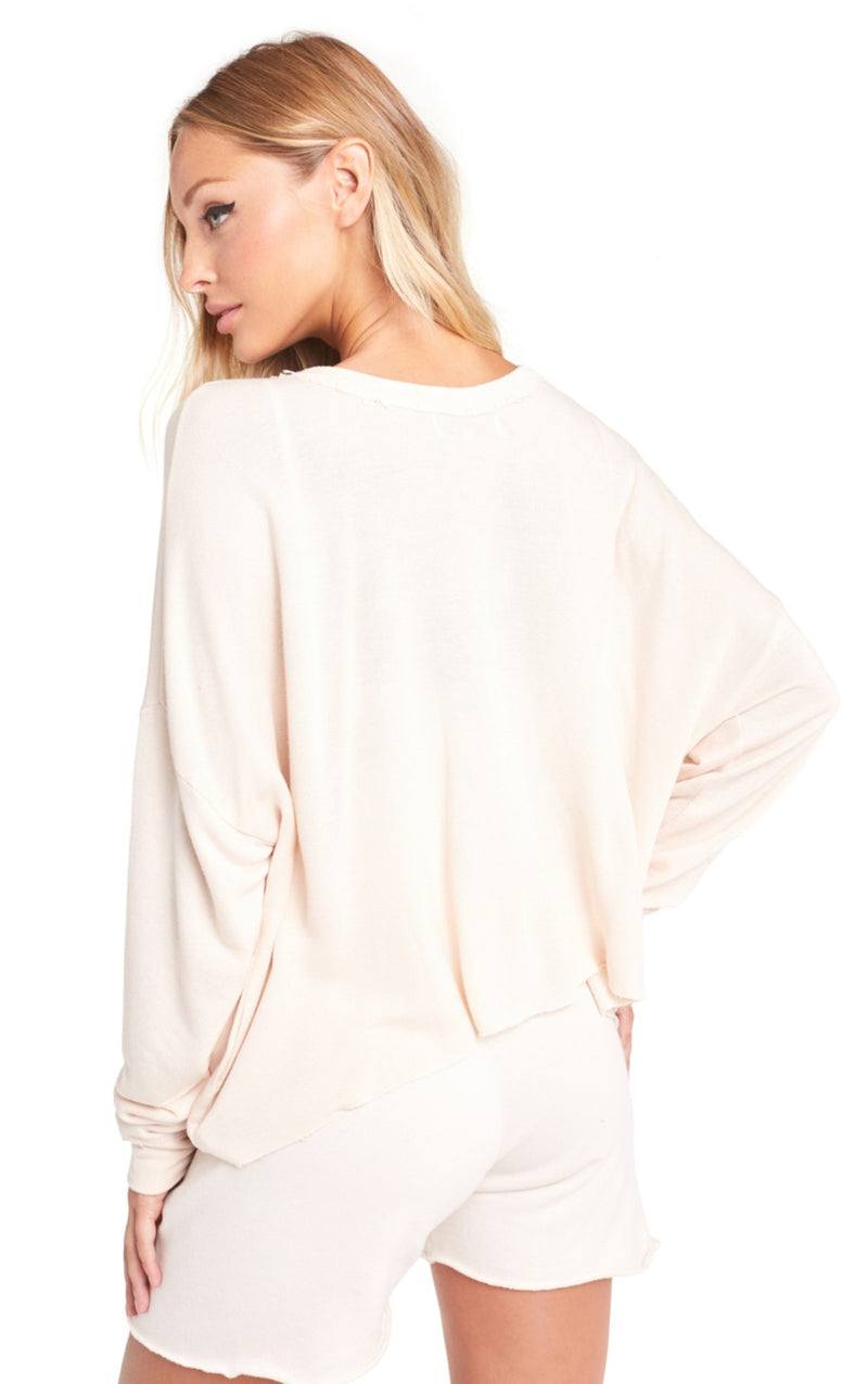 Wildfox Essentials Palmetto Long Sleeve Tee Shirt