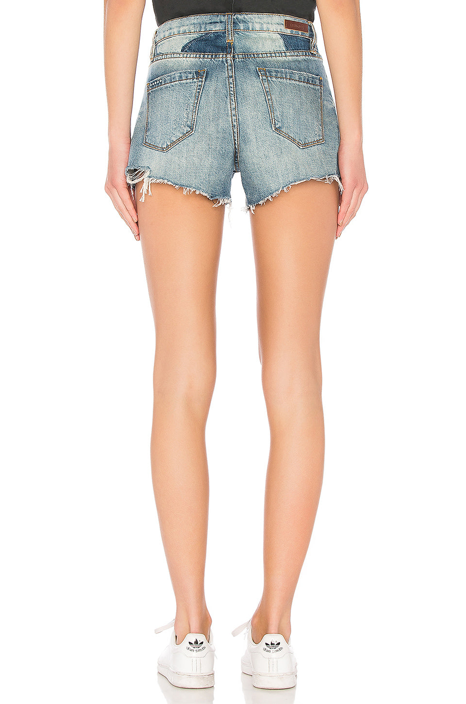 Blank NYC Push Play Cut off Jean Shorts