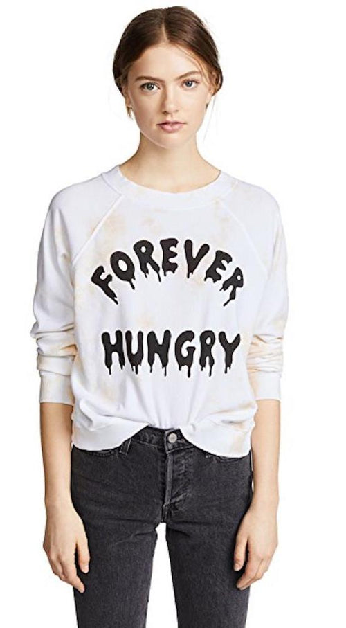 Wildfox Forever Hungry Sweatshirt Pullover