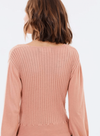 MINKPINK Laura Knitted Wrap Top