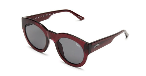 Quay If Only Round Sunglasses Red