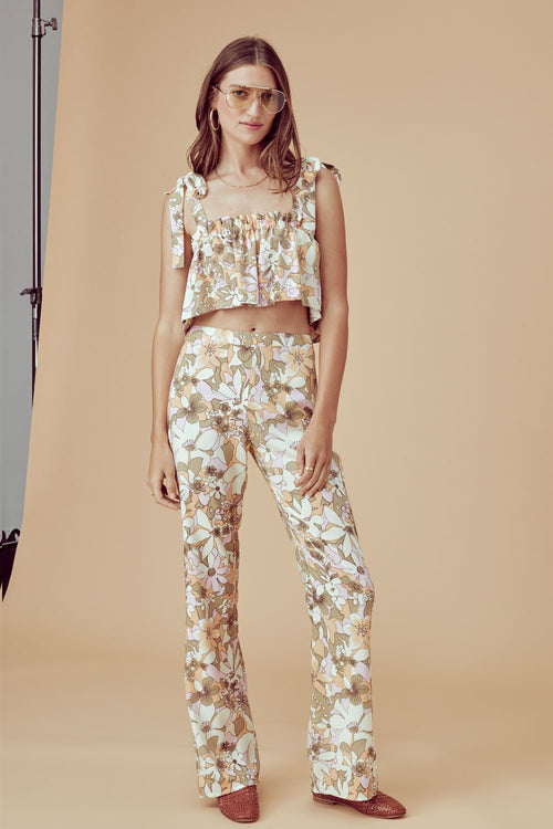 For Love and Lemons Renata High Waist Pants