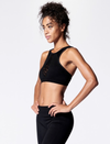 Nux Rivalry Mesh Crop Sports Bra