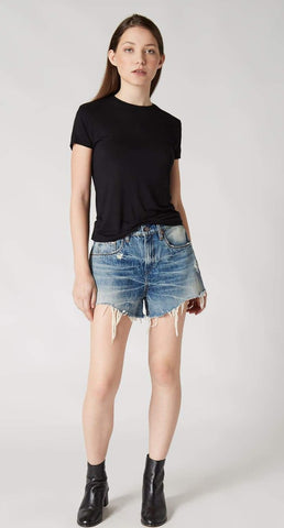 Blank NYC Essex Mean Streak Jean Shorts