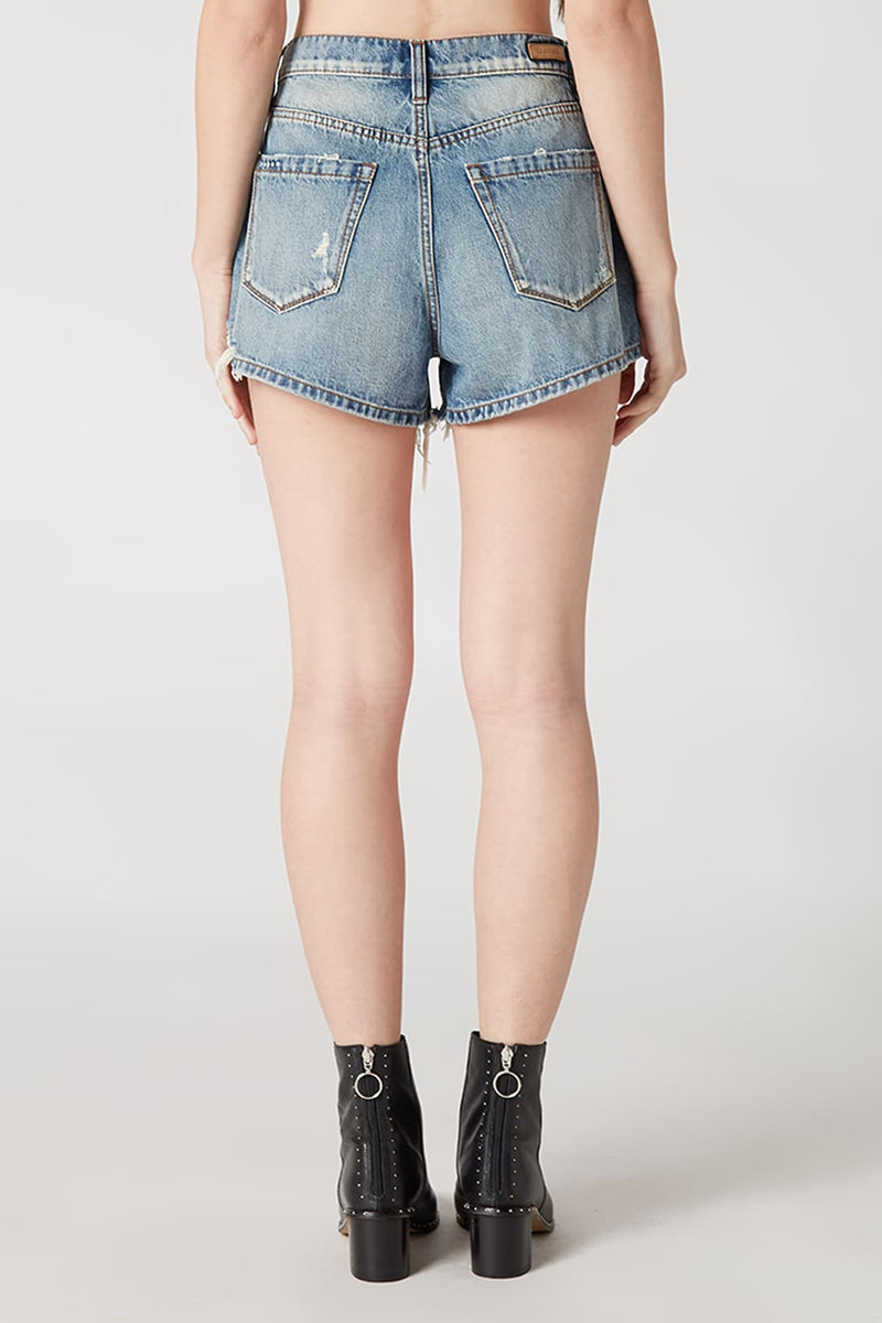 Blank NYC Barrow High Waist Cutoff Denim Shorts