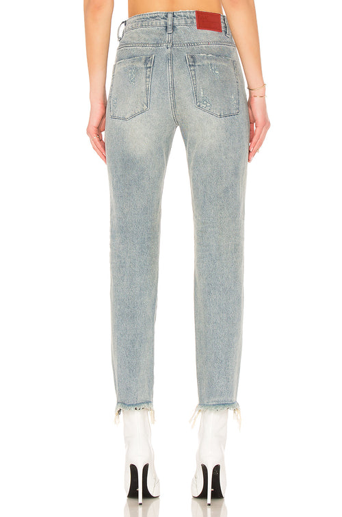 One Teaspoon Blue Storm High Waist Awesome Baggies Jeans