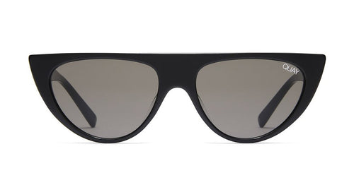Quay Run Away Sunglasses Black Smoke