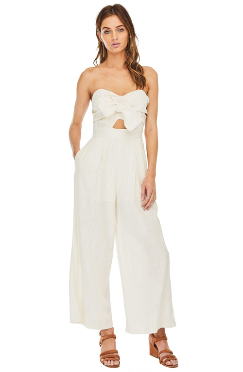 5053c40a11a ASTR Mara Bow Strapless Jumpsuit