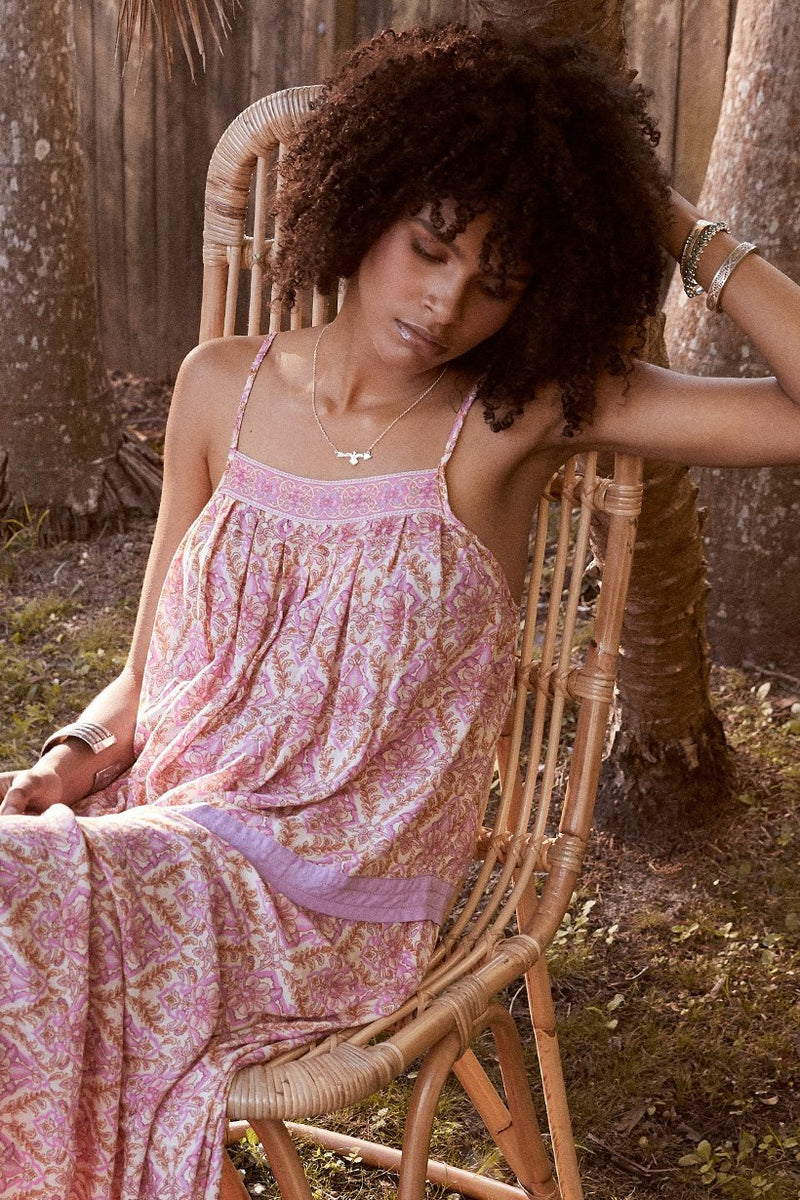 Spell and The Gypsy Collective Jewel Smock Cami Top Quartz